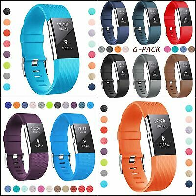 AU15.31 • Buy Bands For Fitbit Charge 2, Classic & Special Edition Adjustable Multi Pack
