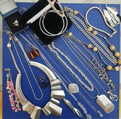 Job Lot Silver Tone Jewellery  • 3.90£