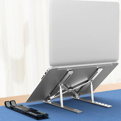 Foldable Laptop Stand 6 Levels Height Holder Riser For MacBook Dell XPS • 12.11£