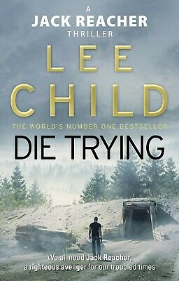 Die Trying By Lee Child Paperback Book New  • 9.49£