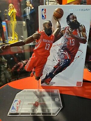 $150 • Buy Enterbay James Harden 1/9 Scale Figure Motion Masterpiece NBA Collection Rare