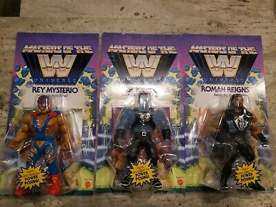 $29.95 • Buy WWE Masters Of The Universe Lot ROMAN REIGNS,Faker Cena,Mysterio MOTU 2020 New
