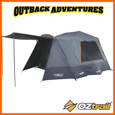 AU499 • Buy Oztrail Lumos 6 Person Fast Frame Lighted Family Instant Tent New Model