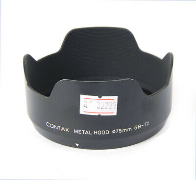 $ CDN265.86 • Buy EX++ Contax Metal Hood 75mm GB-72 For 645 80mm 55mm Lenses