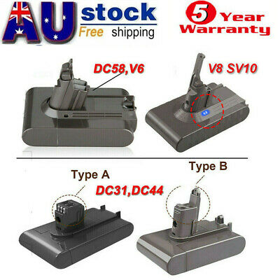AU30.49 • Buy For Dyson V8 V6 Absolute Vacuum Cleaner Li-Ion Battery DC58 DC59 DC31 DC44 DC16