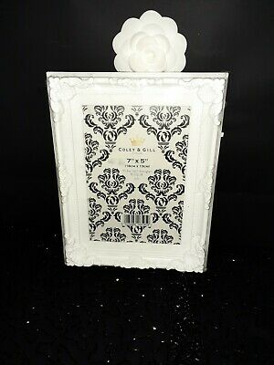 Detailed White Picture Frame Freestanding Rococo Baroque Style • 1.50£