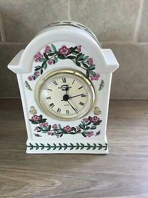 Portmerion Quartz Mantle Clock Botanic Garden • 6£