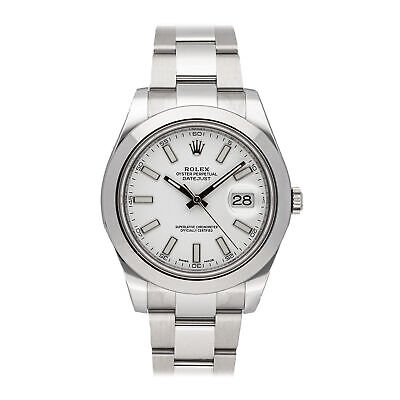 $ CDN11933.92 • Buy  Rolex Datejust II Auto 41mm Steel Mens Oyster Bracelet Watch 116300