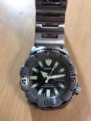 $ CDN404.84 • Buy SEIKO Diver SKX779K Watch Automatic Black Monster 200M Used Excellent