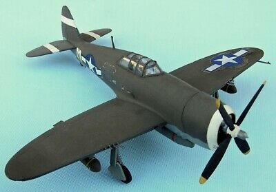 REPUBLIC P-47D Thunderbolt ,USAF 1944,scale 1/72,Hand-made Plastic Model • 4.45£