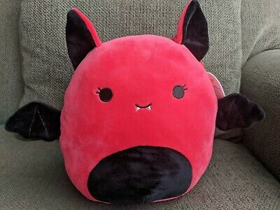 $ CDN30 • Buy Squishmallows 8  Inch Halloween Exclusive Buffy Red Vampire Bat BNWT 2020 Fall