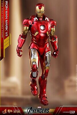 $ CDN698.88 • Buy HOT TOYS MMS500-D27 IronMan Mark VII Diecast Action Figure 1/6 Scale - NEW