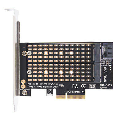 AU15.13 • Buy PCIe X4 To NGFF M.2 NVME PCIe M Key SATA B Key 2230 To 2280 SSD Adapter_AUS Os