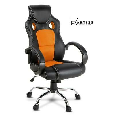 AU106.25 • Buy RETURNs Artiss Gaming Chair Office Chair Computer Chairs Seating Racer Racing Or