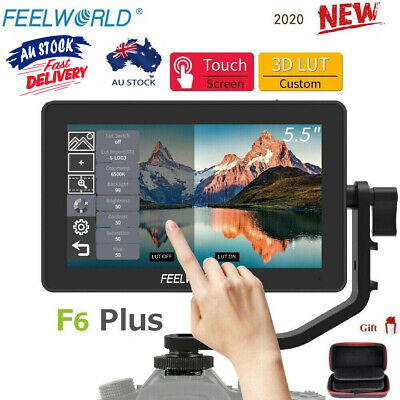 AU247.50 • Buy Feelworld F6 PLUS 5.5  Full HD 4K IPS HDMI On-Camera Type-C Touch Video Monitor