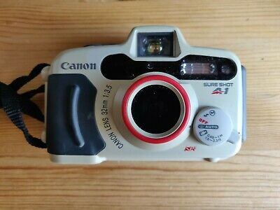 CANON SURE SHOT A1 UnderWater WATERPROOF 35mm COMPACT FILM Camera • 16.50£
