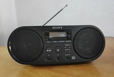 £78.99 • Buy Sony ZS-PS55B Portable Stereo (Digital Audio Broadcast, CD Player, MP3,) - BLACK
