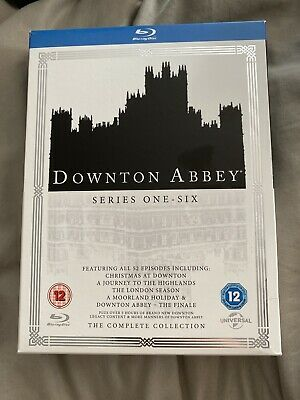 DOWNTOWN ABBEY - The Complete Series Seasons 1-6 & Specials - Blu Ray • 40.99£