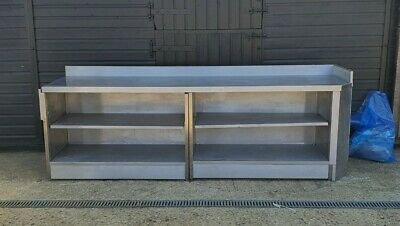 Stainless Steel Catering Prep Table 2650 Mm X 700 MM  WORK TOP Counter  • 550£