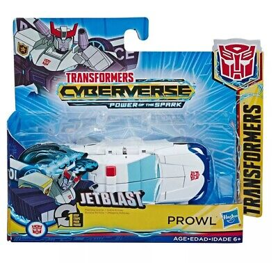Transformers Cyberverse Action Attackers 1-Step Changer PROWL Figure By Hasbro • 13.99£