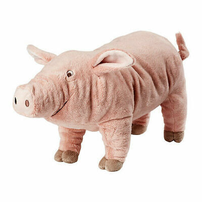 IKEA KNORRIG Soft Toy Pig Plush Pink Toy Cuddly Toy, Perfect For Kids Gift 37cm  • 12.97£