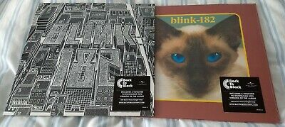 BLINK 182 - NEIGHBORHOODS AND CHESHIRE CAT VINYL L.P'S NEW AND SEALED + Download • 30£