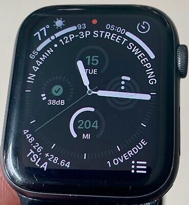 $ CDN183.23 • Buy Apple Watch Series 4 44mm GPS + Cellular 4G LTE - Space Gray