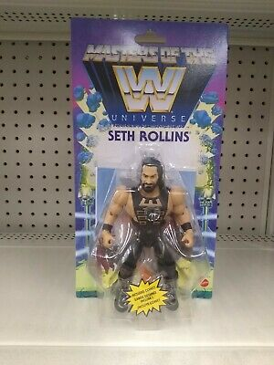 $33.99 • Buy WWE Masters Of The WWE Universe Seth Rollins Action Figure IN HAND Walmart