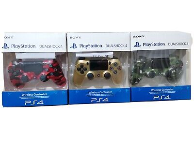 Sony  PS4 WIRELESS CONTROLLER DUALSHOCK V2 2020 New Sealed • 37£