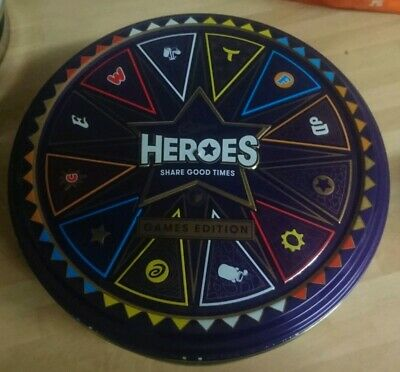Large Cadbury Heroes Sweet Tin Games Tin  • 10£