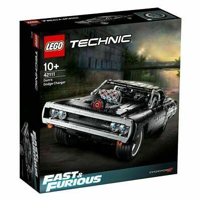 AU138.88 • Buy Lego 42111 Technic Fast & Furious Dom's Dodge Charger (New Sealed Imperfect Box)