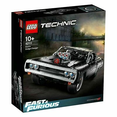 AU148.88 • Buy Lego 42111 Technic Fast & Furious Dom's Dodge Charger (Brand New Sealed)