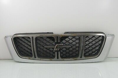 $119.99 • Buy JDM Subaru Forester SF5 SF Front WRx Chrome Grill Grille Mask Panel OEM 1999-02