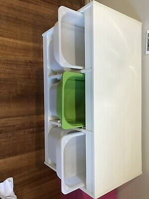 AU67 • Buy Ikea White Trofast Storage Unit-perfect For Kids Toys,including Boxes