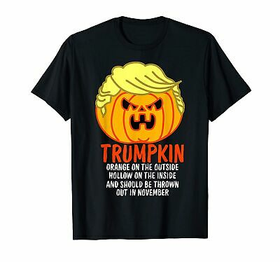 $ CDN17.07 • Buy Trumpkin Halloween Tshirt T-Shirt Vintage Gift For Men Women Funny Tee
