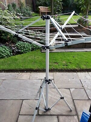 Portable Rotary Washing Line Perhaps For Caravan And Camping • 8£