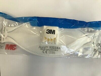 AU21.95 • Buy 3M 9322A+ Respirator - Individually Sealed - Sent By Express Post