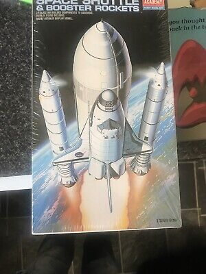 Academy Space Shuttle And Booster Rockets • 8£