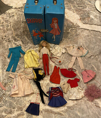 $ CDN98.85 • Buy Vintage  Barbie Skipper Carrying Doll Case With Skipper Doll And Clothes.