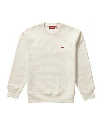 $ CDN300 • Buy Supreme Natural Small Box Logo Crewneck Size Medium TNF CDG MANE Bogo