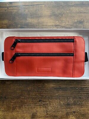 $ CDN66.67 • Buy Supreme Leather Waist/Shoulder Bag SS19 100% Authentic Guaranteed