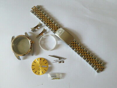 $ CDN52.25 • Buy Vintage 36mm Titoni 2 Tone Watch Case Parts For 2836 Movement