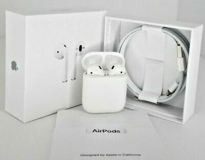 $ CDN122.58 • Buy Apple AirPods 2nd Generation With Charging Case - White 🔥🔥Free Shipping🔥🔥