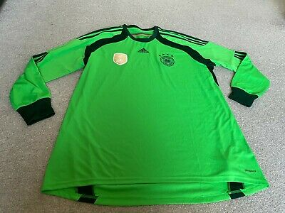 Germany Goalkeeper Shirt Size Xxl Fifa World Champions 2014 • 0.99£
