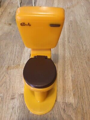 Sindy Furniture Doll House Toy Toilet • 4.24£