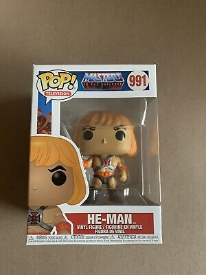 $9.99 • Buy HE-MAN Funko Pop 991 Masters Of The Universe New Actual Pics Heman