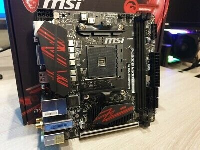 AU117.50 • Buy MSI B450I Gaming Plus AC WIFI AM4 ITX SFF Motherboard