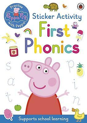 Peppa Pig: First Phonics: Sticker Activity Book By Peppa Pig (English) Slipcased • 5.77£