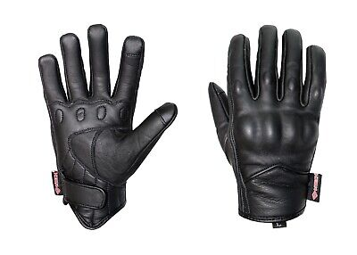 AU39 • Buy Motorbike Touch Screen Gloves Motorcycle Short Style A Grade Goat Leather Gloves