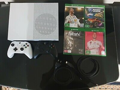 AU237.50 • Buy Microsoft Xbox One S 500 GB *including TWO Controllers And FOUR Games*